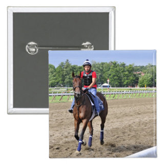 Chad Brown on Saratoga 150 Pinback Button