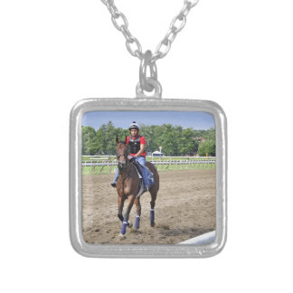 Chad Brown on Saratoga 150 Silver Plated Necklace