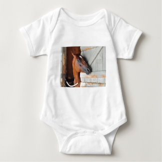 Chad Brown Stables Baby Bodysuit