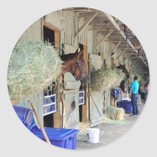 Chad Brown Stables Classic Round Sticker