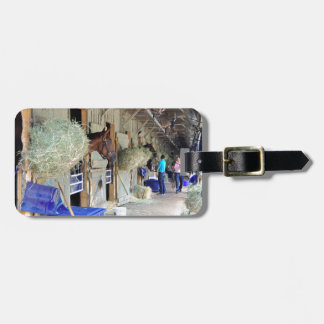 Chad Brown Stables Luggage Tag
