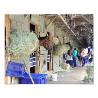 Chad Brown Stables Photo Print