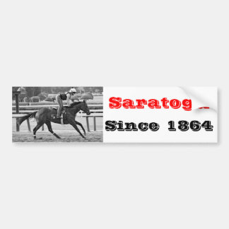 Chad Brown Trainee on Opening Day at the Spa Bumper Sticker