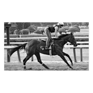 Chad Brown Trainee on Opening Day at the Spa Business Card