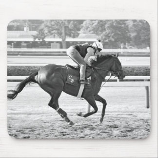 Chad Brown Trainee on Opening Day at the Spa Mouse Pad