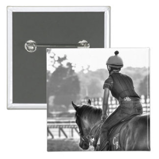 Chad Brown Workouts 2 Inch Square Button