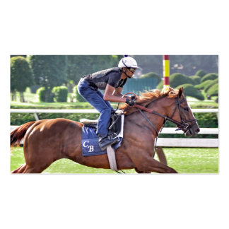 Chad Brown Workouts during Saratoga 150 Business Card