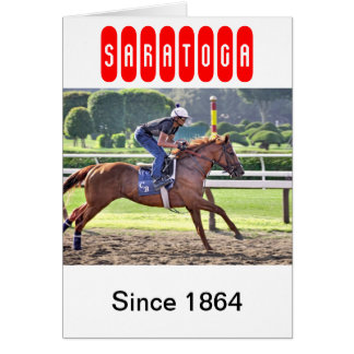 Chad Brown Workouts during Saratoga 150 Cards
