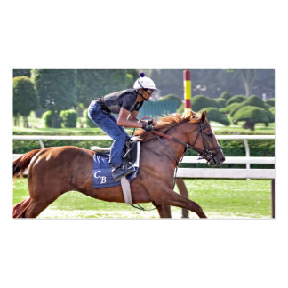 Chad Brown Workouts during Saratoga 150 Double-Sided Standard Business Cards (Pack Of 100)