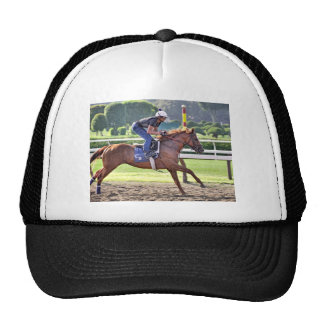 Chad Brown Workouts during Saratoga 150 Trucker Hat