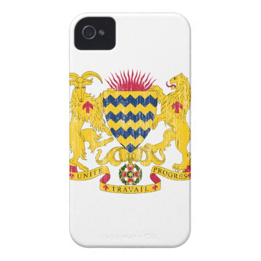 Chad Coat Of Arms Blackberry Bold Covers