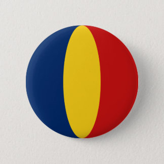 Chad Fisheye Flag Button
