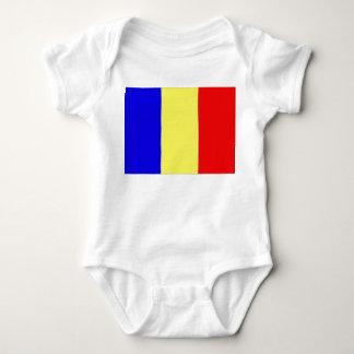 Chad Flag Baby Bodysuit