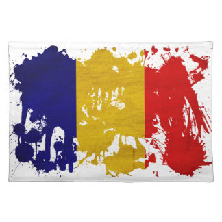 Chad Flag Cloth Placemat