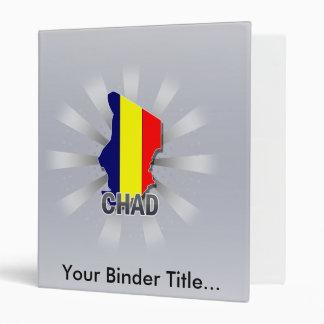Chad Flag Map 2.0 Vinyl Binders