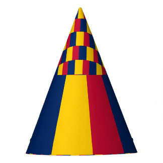 Chad Flag Party Hat