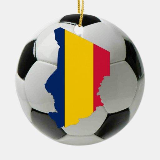 Chad football soccer ornament
