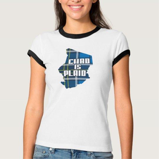 Chad is Plaid T-Shirt