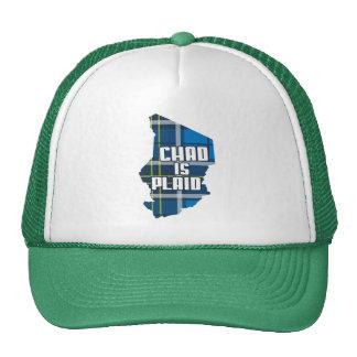 Chad is Plaid Trucker Hat