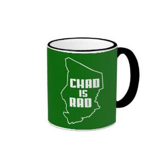 Chad is Rad Outline Coffee Mug