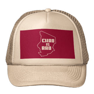 Chad is Rad Outline Trucker Hat