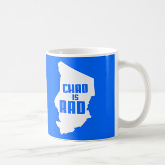 Chad is Rad (solid) Coffee Mugs