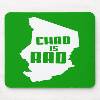 Chad is Rad solid Mouse Mat