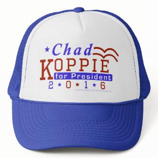 Chad Koppie President 2016 Election Constitution Trucker Hat