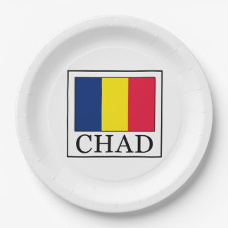 Chad Paper Plate