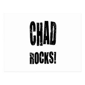 Chad Rocks! Postcard