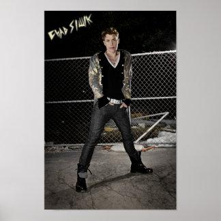 """Chad Siwik """"Hangin' Tough"""" Poster"""