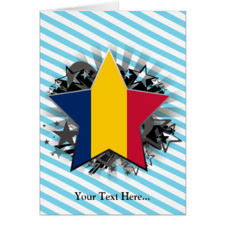 Chad Star Greeting Cards