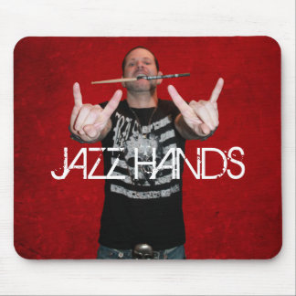 Chad Szeliga Drummer JAZZ HANDS Mouse Pad