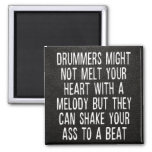 Chad Szeliga Drummer Quote 2 Inch Square Magnet