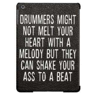 Chad Szeliga Drummer Quote iPad Air Cover