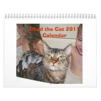 Chad the Cat Calendar 2011