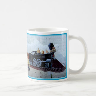 Chadbourn Train Mural Coffee Mug