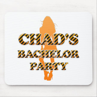 Chad's Bachelor Party Mouse Pad