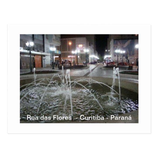 Chafariz - Street of Flores Postcard