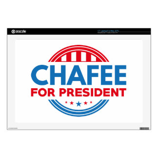 "Chafee For President 17"" Laptop Decal"