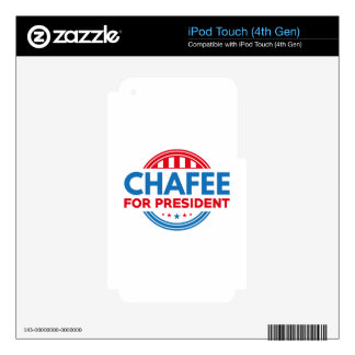 Chafee For President Decal For iPod Touch 4G