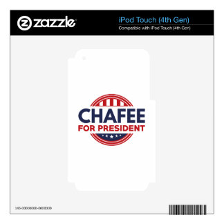 Chafee For President iPod Touch 4G Skin