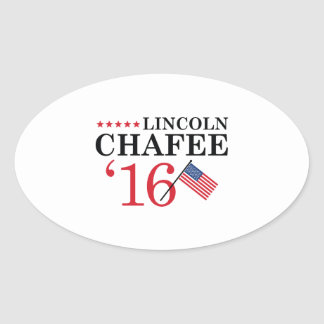 Chafee For President Oval Sticker