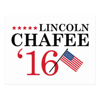 Chafee For President Postcard
