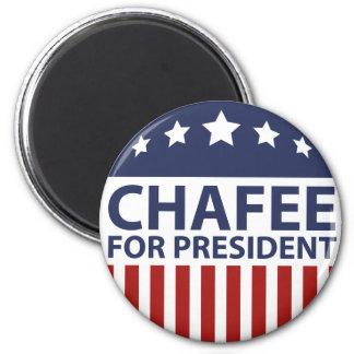 Chafee para el presidente imán redondo 5 cm