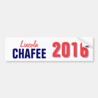 Chaffee 2016 bumper sticker