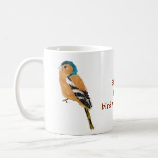 Chaffinch Bird Watching Coffee Mug