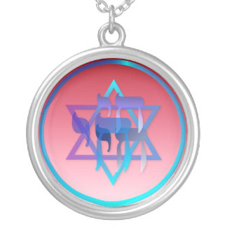 Chai and Star of David Necklace