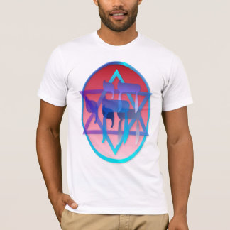 Chai and Star of David Oval Shirts