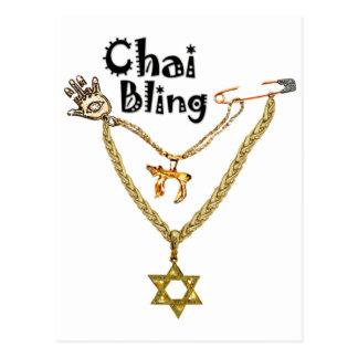 Chai Bling Postcard